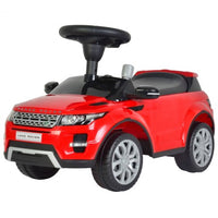Licensed Range Rover Push Car Red