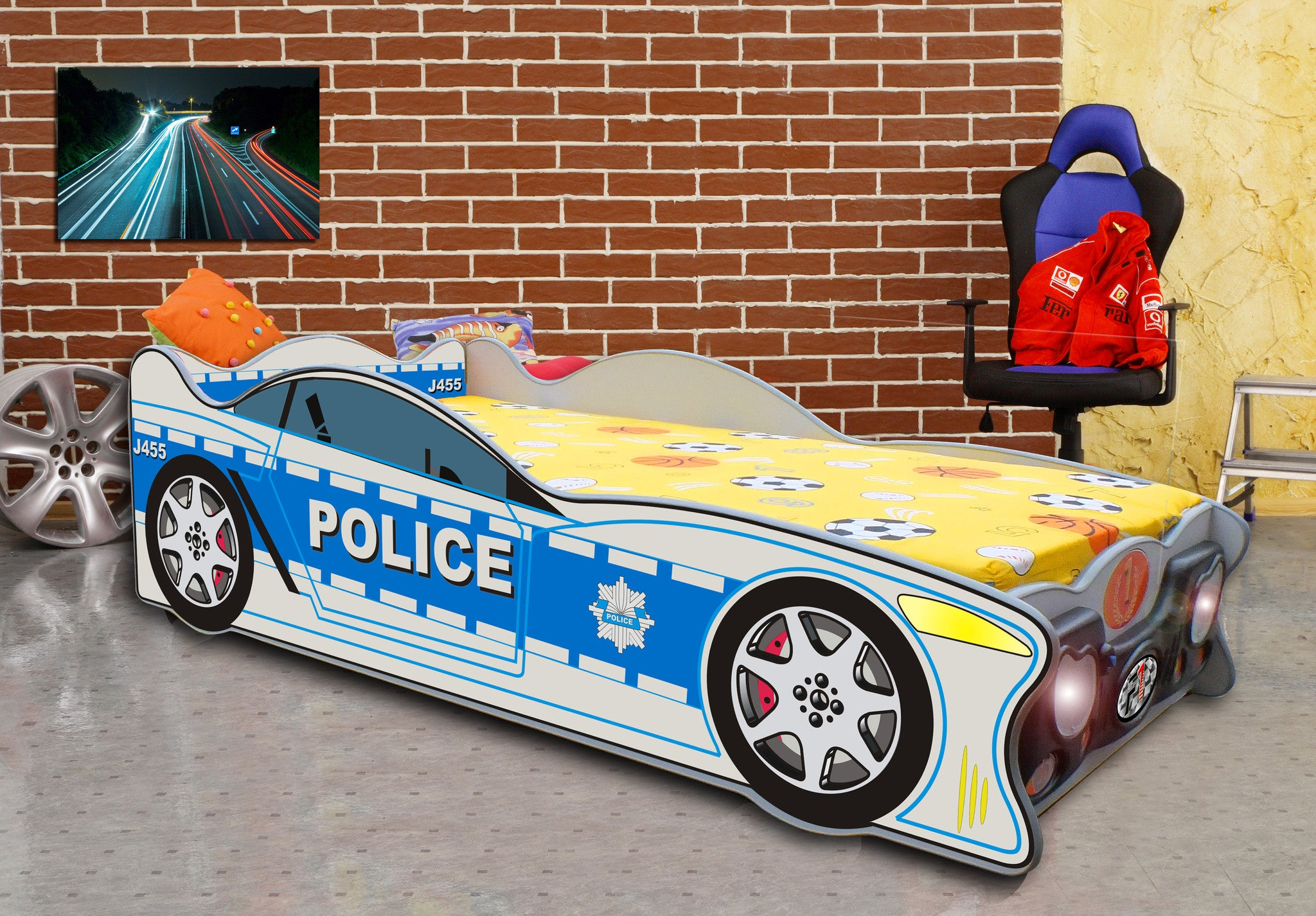 Zig Zag Police Car - Buy Online on My Tiny Wheels