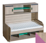 TRANSFORMER BED WITH DESK AND SHELVING UNIT ULTIMO - My Tiny Wheels