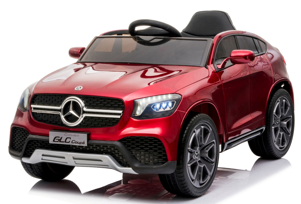 Mercedes GLC Coupe Red