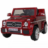 Mercedes Benz G65 Red