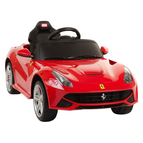 Licensed Ferrari F12 Battery Powered Ride On Car 12V Real Like Paint Red - GarageN1  - 1