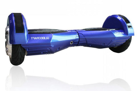 R8 Series Self-Balancing Scooter 8 inches Wheels Bluetooth Speakers - Blue