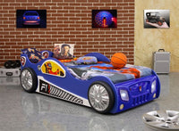 Sport Car Bed | Blue