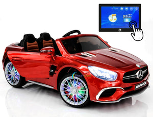 Mercedes Benz SL65 AMG Red