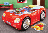 Sleep Car Bed For Kids | Red - My Tiny Wheels