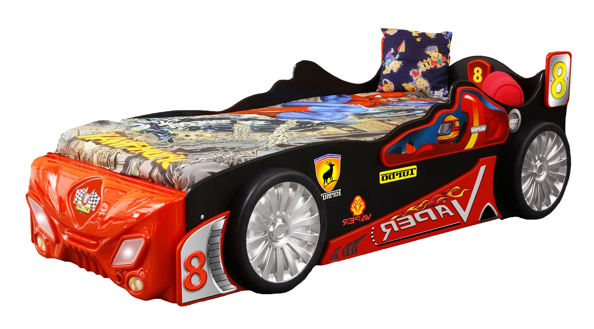 Vaper Car Bed For Kids - Buy Online on My Tiny Wheels