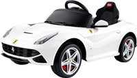 Licensed Ferrari F12 White