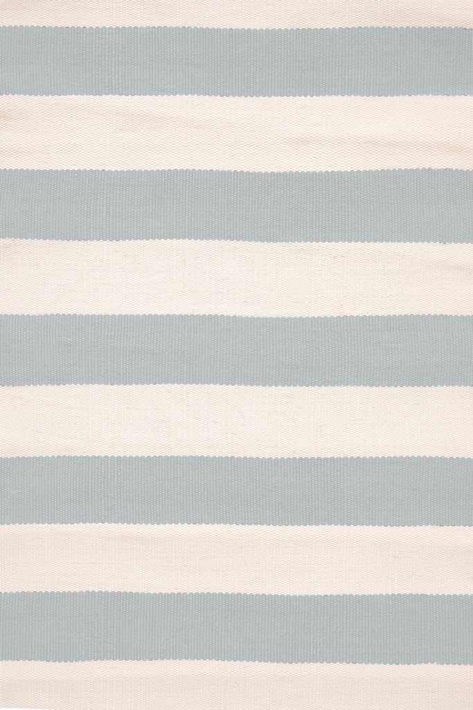 Catamaran Stripe Light Blue Ivory