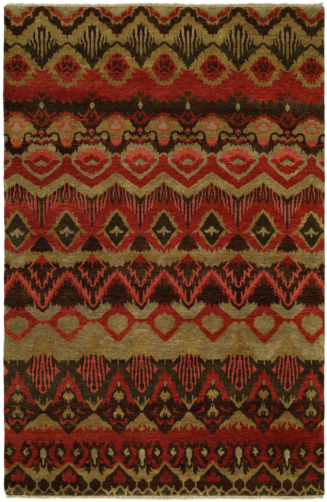 Transitional Tribal Red