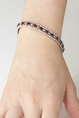 Ruby and Diamond Bracelet - OUT OF STOCK
