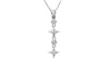Diamond Fancy 18K White Gold Pendant