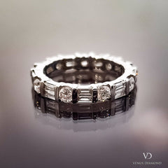 Multi-cut Diamond Full Eternity Ring