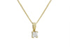 Diamond 18K Yellow Gold Pendant