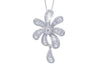 Fantasy Diamond 18K White Gold Pendant