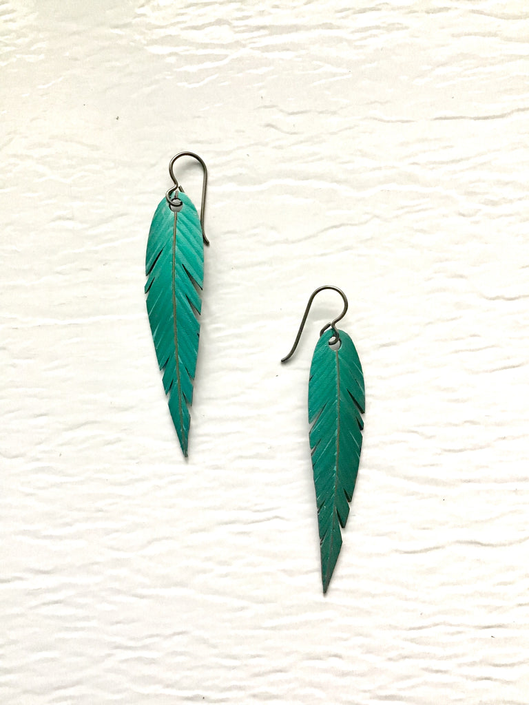 "Medium ""Feather"" Earrings"