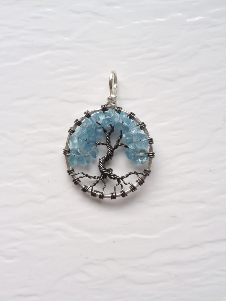 Apatite Gunmetal Tree