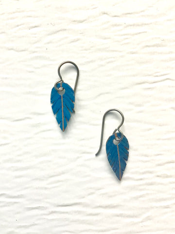 "Extra-Small ""Feather"" Earrings"
