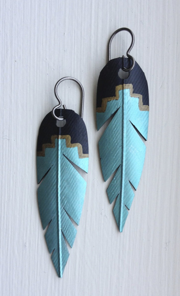 Southwest Style: Black, Brass and Teal