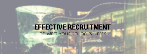 EDCI 6215  Effective Recruitment