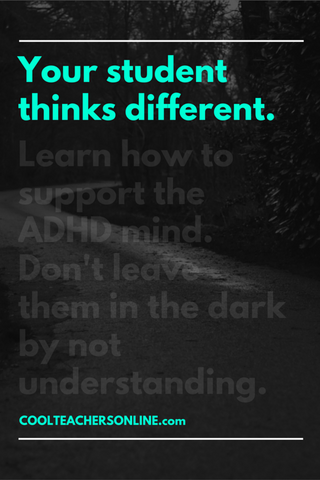 EDCI 6228 Supporting the Child with ADHD