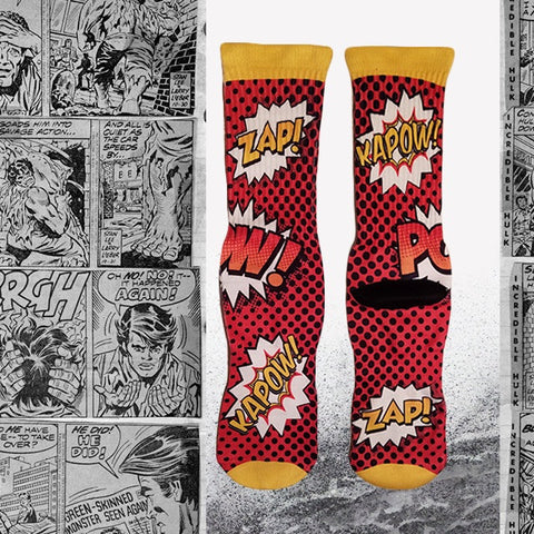 Comic_book_socks_for_Men_cool_socks