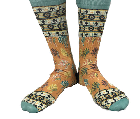 Tribal_fun_patterned_socks_dress_socks