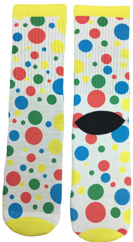 Colorful Polka Dot Socks - Fun Crazy Cool Novelty Socks - Swaggy Socks