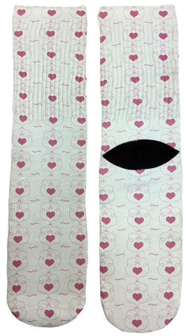 Hearts of Love Socks - Fun Crazy Cool Novelty Socks - Swaggy Socks