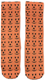 Pumpkin Halloween Socks - Fun Crazy Cool Novelty Socks - Swaggy Socks