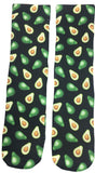 Avocado Socks - Fun Crazy Cool Novelty Socks - Swaggy Socks