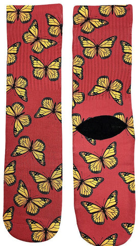Butterfly Socks - Fun Crazy Cool Novelty Socks - Swaggy Socks