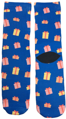 Christmas Presents Socks - Fun Crazy Cool Novelty Socks - Swaggy Socks