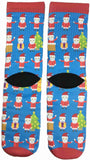 Cool Santa Claus Socks - Fun Crazy Cool Novelty Socks - Swaggy Socks
