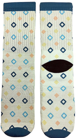 Diamond Design Socks - Fun Crazy Cool Novelty Socks - Swaggy Socks