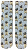 Pug Dog Socks - Fun Crazy Cool Novelty Socks - Swaggy Socks