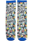 """I Dont Care"" Funny Socks - Fun Crazy Cool Novelty Socks - Swaggy Socks"