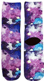 Galaxy Outer Space Socks - Fun Crazy Cool Novelty Socks - Swaggy Socks