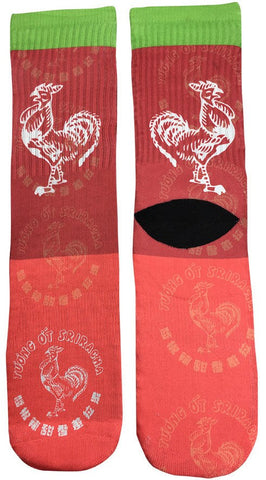 Hot Sauce Socks - Fun Crazy Cool Novelty Socks - Swaggy Socks
