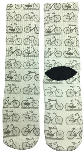 Bicycle Socks - Fun Crazy Cool Novelty Socks - Swaggy Socks