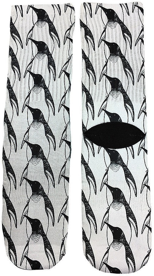Penguin Socks - Fun Crazy Cool Novelty Socks - Swaggy Socks