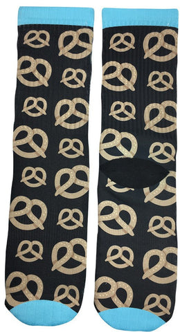 Pretzel Socks - Fun Crazy Cool Novelty Socks - Swaggy Socks