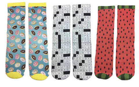 Women's Sock of the Month Club - 2 Pairs Every Month - Fun Crazy Cool Novelty Socks - Swaggy Socks
