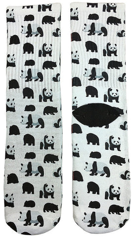 Panda Panda Socks - Fun Crazy Cool Novelty Socks - Swaggy Socks