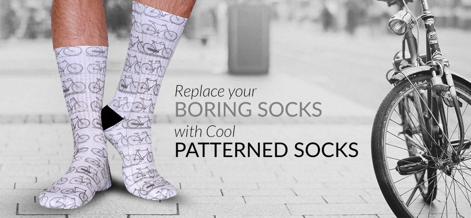 Cool Patterned Novelty Socks - Fun Design Socks