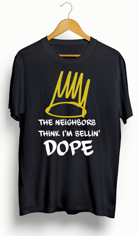 "J Cole ""4 Your Eyez Only""/Neighbors T-Shirt - Ourt"