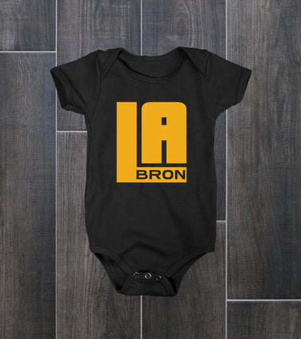 Lebron James | King James | LAbron Baby Bodysuit - Ourt