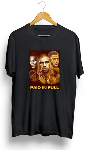 "CLEVELAND CAVALIERS LEBRON JAMES/ISAIAH THOMAS/DERRICK ROSE ""PAID IN FULL T-Shirt"