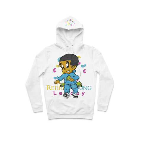 "White ""The Boy"" Hoodie"