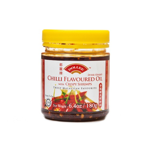 Dollee Chilli Oil with Crispy Shrimps (200g)